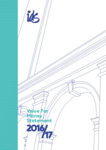 Value for money statement 2016-17 cover